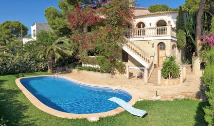 Sea view villa in Portals, Palma de Mallorca, Balearic Islands, Spain