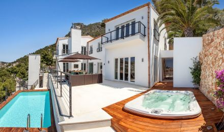 Exclusive Villa with stunning views over Puerto Andratx, Palma de Mallorca, Balearic Islands, Spain