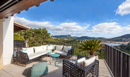 Fantastic penthouse in Cala Moragues, Palma de Mallorca, Balearic Islands, Spain