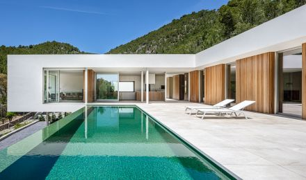 New, stylish villa in Son Vida, Palma de Mallorca, Balearic Islands, Spain
