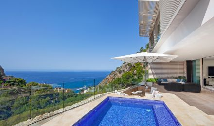 Luxury semi detached house in Puerto Andratx, Palma de Mallorca, Balearic Islands, Spain