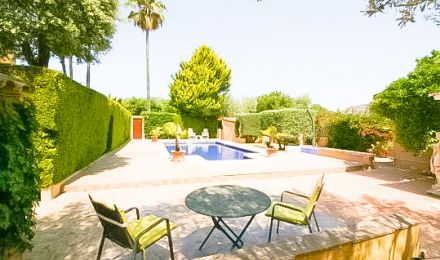 Villa with pool within walking distance to the port, Palma de Mallorca, Balearic Islands, Spain