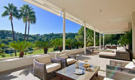 Golf-side villa in Mallorca, Palma de Mallorca, Balearic Islands, Spain