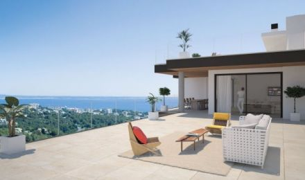 New, 4 bedroom stylish penthouse, Palma de Mallorca, Balearic Islands, Spain