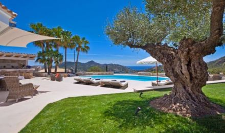 Desirable villa in Puerto de Andratx, Palma de Mallorca, Balearic Islands, Spain